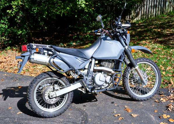Photo 2012 DR650 (DR650SE) Dual Sport Fully Loaded Adventure Motorcycle - $4,200 (Vienna, VA)