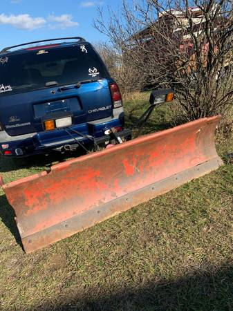 Photo 8 ft. Western Snow Plow - $400 (Berkeley springs)