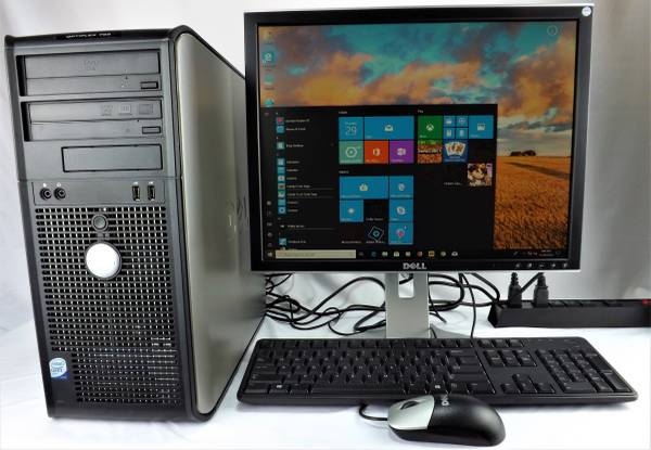 Photo Complete Dell OptiPlex 755 Computer System Windows 10 Pro - Redytech - $95 (Gaithersburg)
