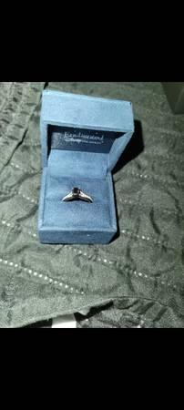 Photo Enchanted Disney Villains 1 CT Black And White Diamond Engagement Ring - $950 (Martinsburg)