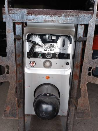 Photo Sa 200 welding machine - $4,500 (Martinsburg)