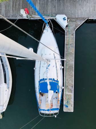 Photo Sabre 28 MK I sail boat - $14,900 (Washington, D.C.)