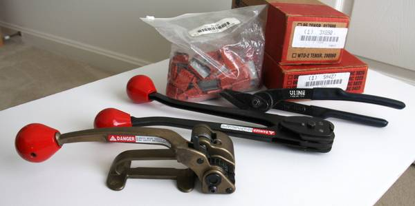 Photo Signode Steel Strapping (Banding) Tools - $225 (Falling Waters)
