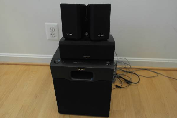 Photo Sony Home Theater Subwoofer SA-WMSP4 Speakers - $50 (Sterling)