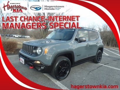 Photo Used 2017 Jeep Renegade 4WD Trailhawk for sale