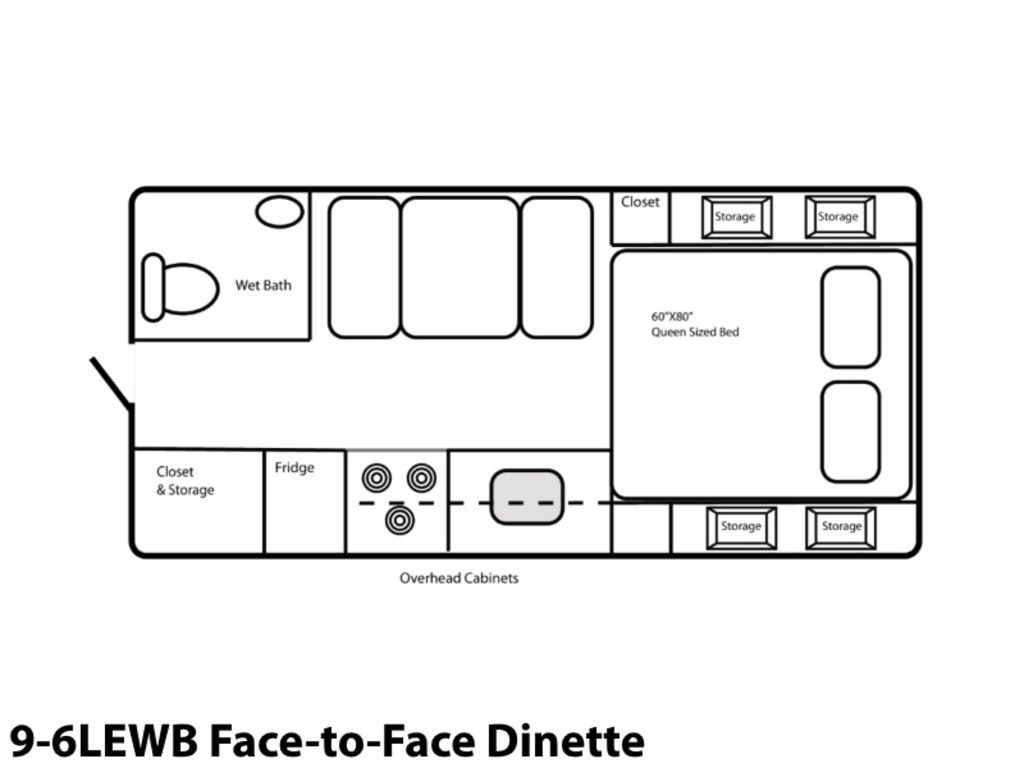 Photo 2021 Northern Lite Limited Edition 9-6LEWB Face-to-Face Dinette $48995