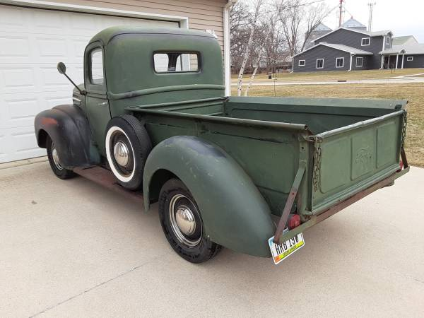 Photo 1947 ford pickup - $9,500 (Clear Lake)