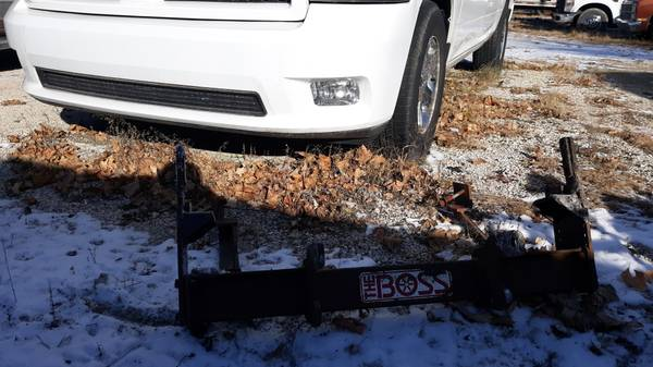 Photo 2003 and UP Dodge Ram 2500 3500 Boss Snow plow blade MOUNT - $350 (nw iowa)