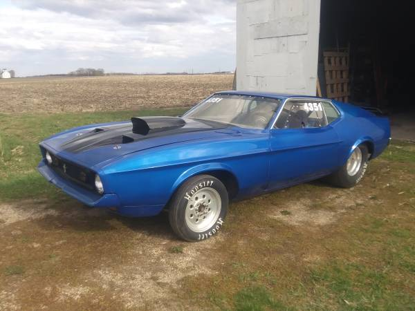 Photo 72 Mustang Drag Car - $8,500 (Burt)