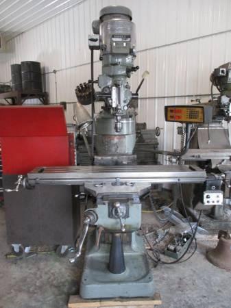 Photo Bridgeport Milling Machine - $6,900 (Osage)