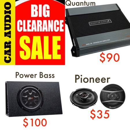 Photo Car Audio Clearance Sale - $123 (Manly)