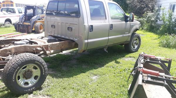 Photo Ford f350 SRW IFS SWAP coil spring Axles Grille guard - $375 (NW IOWA)