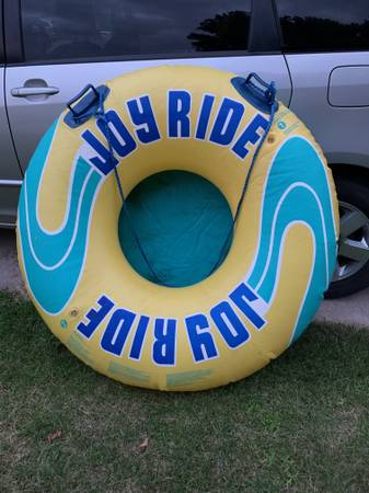 Photo Inflatable Towable Boat Tube - $45 (Clear Lake)
