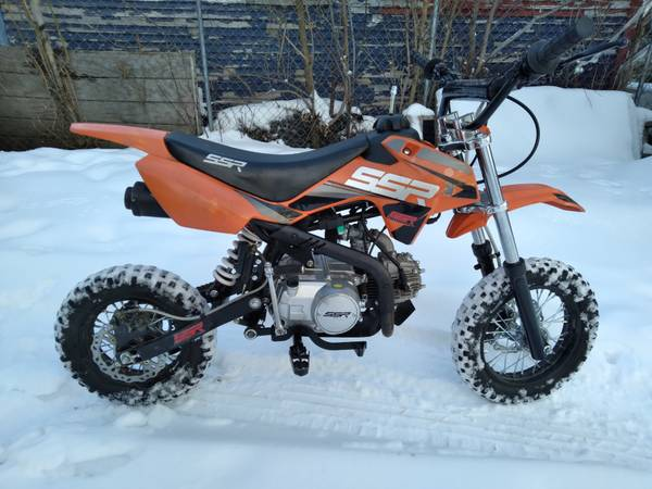 Photo SSR 110 dirt bike - $1,300 (Marshalltown)