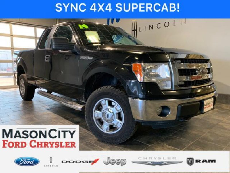 Photo Used 2014 Ford F150 4x4 SuperCab for sale