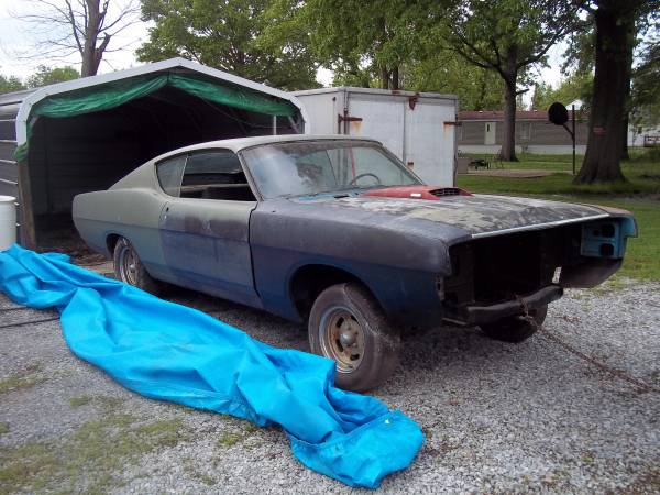 Photo 1968 Ford Torino GT 390 4V C6 Project - $7,500 (Flora)