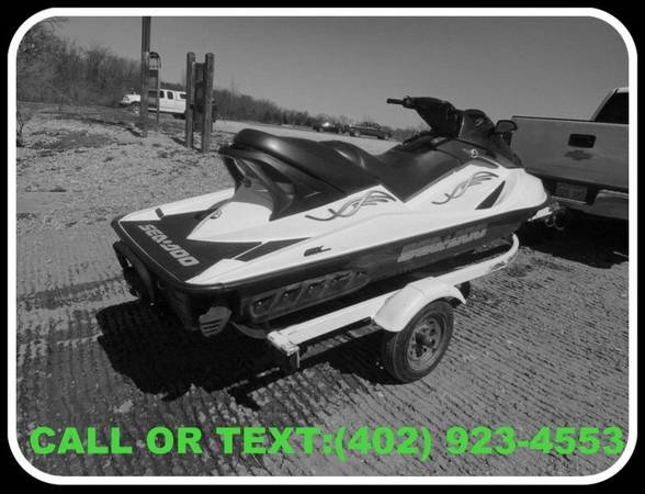 Photo 2005 seadoo GTX Speedster - $1000 (mattoon)
