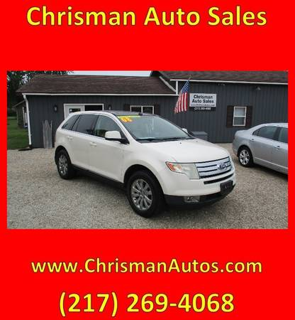 Photo 2008 Ford Edge Limited (All Wheel Drive) - $6,300 (Chrisman, IL)