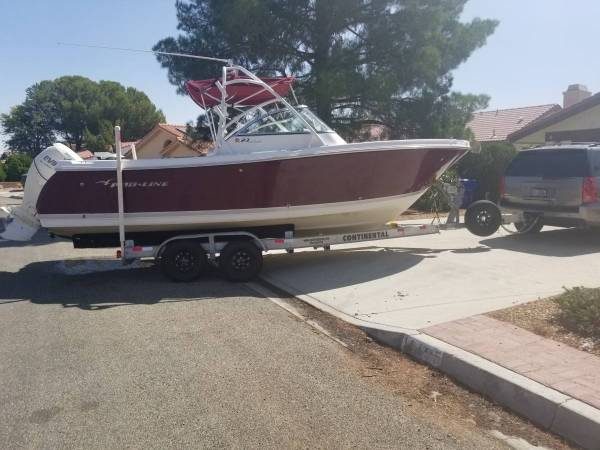Photo 2008 Pro Line 23DC fishing open bow boat - $22,000 (springfield)