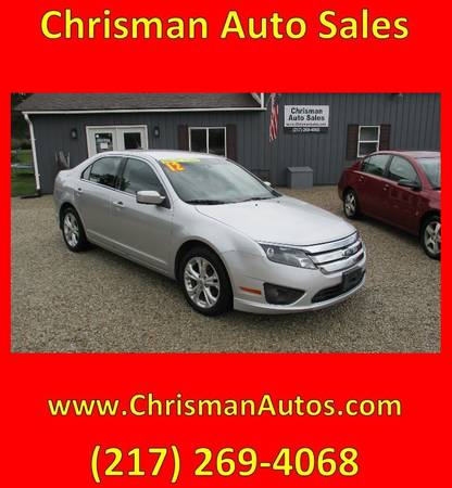 Photo 2012 Ford Fusion SE - $6,300 (Chrisman, IL)