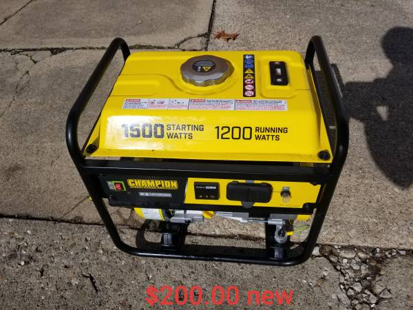 Photo Generator power tools band saw drill blower grinder dewalt craftsman porter cabl - $2,000 (Mattoon)