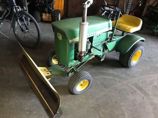 Photo John Deere 60 Lawn Tractor wBlade - $425 (Arthur, IL)