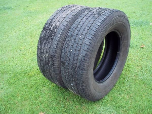 Photo LT26570R18 Goodyear Wrangler SRA Tires - $140 (Effingham)