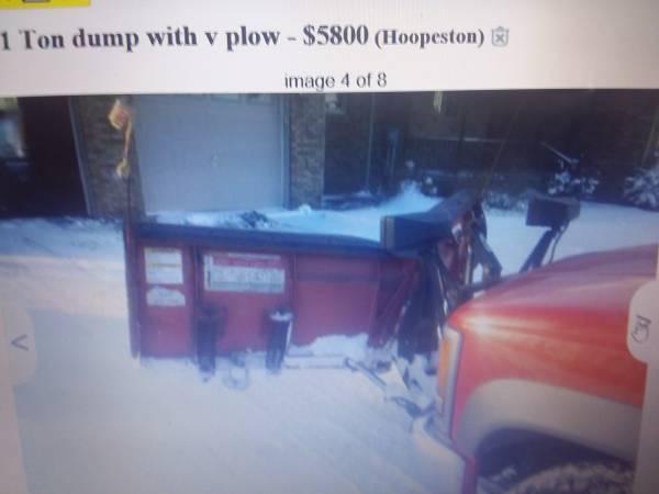 Photo Western Snow Plow - $2,000 (Lake Paradise)