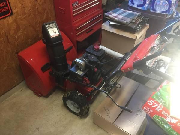 Photo Yard Machines Snowblower - $400 (Neoga)
