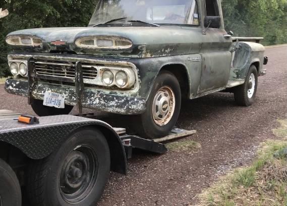 Photo 1960 Chevy Apache - $3,500 (Mission Texas)