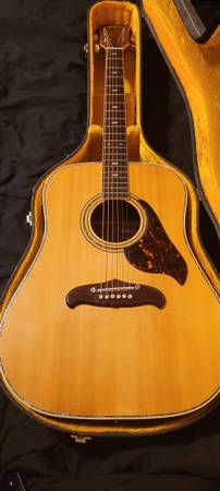 Photo 1970s Ventura Acoustic Guitar - $300 (Mission, TX)