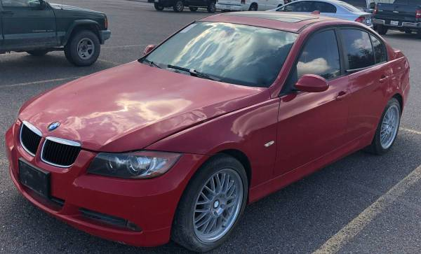 Photo 2006 RED BMW 325i Not Running FOR PARTS (fits 2006-2011) - $10 (mcallen)