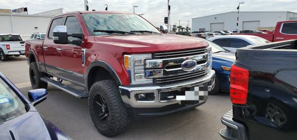 Photo 2017 FORD F250 LARIAT FX4 - $825 (SOUTH TEXAS CERTIFIED PREOWEND CENTER)