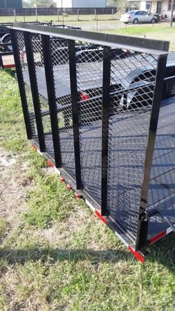 Photo 202039 new 14 ft utility trailer w 4ft gate - $1,450 (Los fresnos)