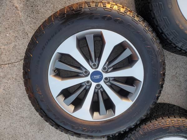 Photo 20s Ford F150 STX Wheels Take Offs - $1,100 (Mission)