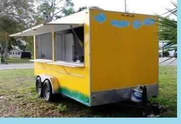 Photo .39..39. Used food trailer Excellent shape .39..39. - $801 (mcallen)