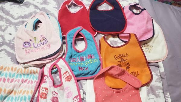 Photo Baby Girl Bibs - $5 (Edcouch)