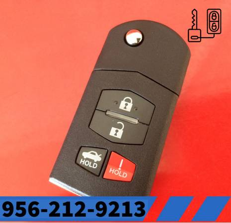 Photo MAZDA KEY DUPLICATE FOR 2 3 5 6 CX7 FULLY PROGRAMMED TO YOUR CAR (mcallen)