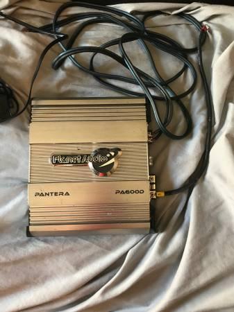 Photo Planet audio pantera pa600d lifier - $80 (N mcallen)