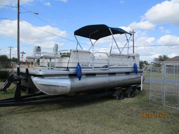 Photo Pontoon Boat for Sale - $9,500 (San Juan)