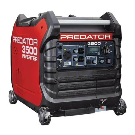 Photo Predator Inverter Generator 3500 - $440 (McAllen)