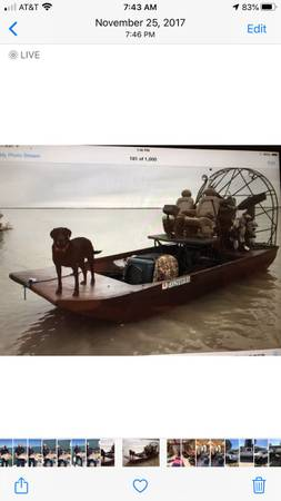 Photo REDUCED Airboat for Sale - $12500 (Harlingen tx)