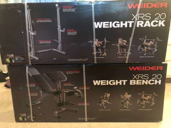 Photo Selling Olympic bench and squat rack - $275 (Harlingen)