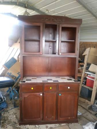 Photo Vintage Kitchen Cabinet for sale (Edinburg)