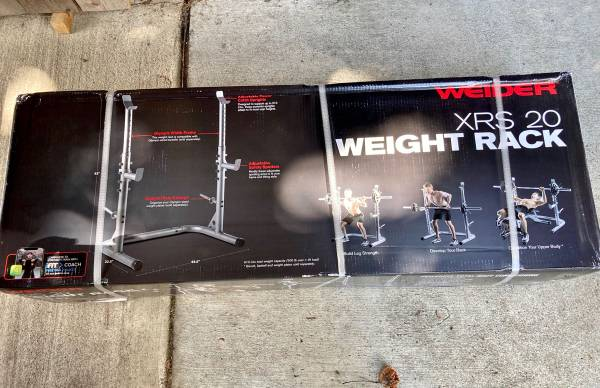 Photo Weider Olympic Workout Rack - $165 (Mission)