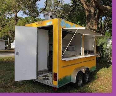 Photo In Great Shape Fast Food trailer (( 2011 ))  - $805 (mcallen)
