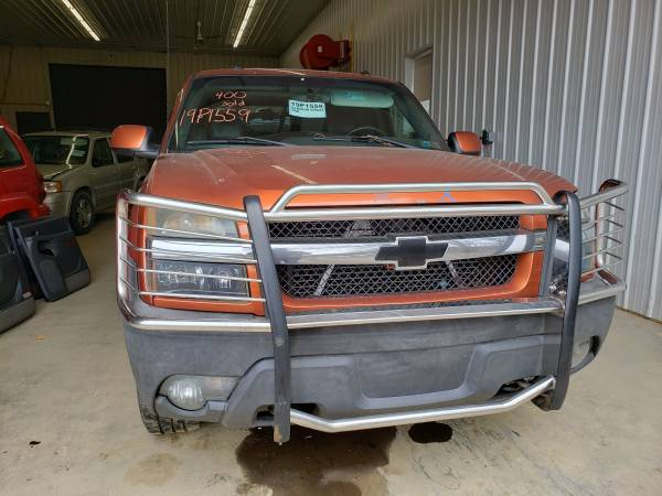 Photo 04 CHEVY AVALANCHE 1500 AFTERMARKET CHROME BRUSH GRILL GUARD PUSH BAR - $150 (COCHRANTON)