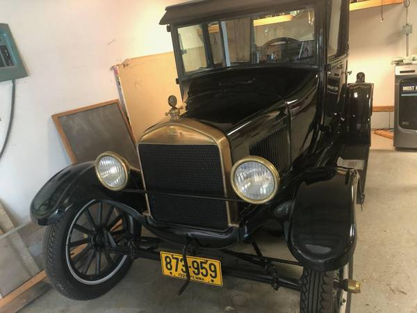Photo 1926 Ford Model T Dr.s Coupe - $11,000 (Centerville)