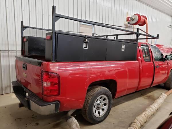 Photo 2012 CHEVY SILVERADO 1500 LEFT  RIGHT TOOL UTILITY BOXES FOR 839 BED - $150 (COCHRANTON, PA)