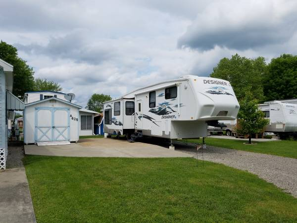 CAMPER 5th Wheel Jayco Designer - $27500 (Mercer,PA) | RV ...